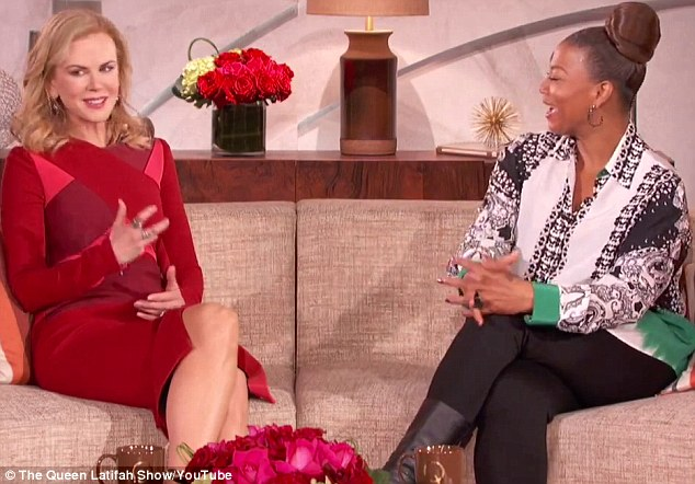 Southern influence: Queen Latifah asked the actress if she has picked up the southern accent after living in Nashville