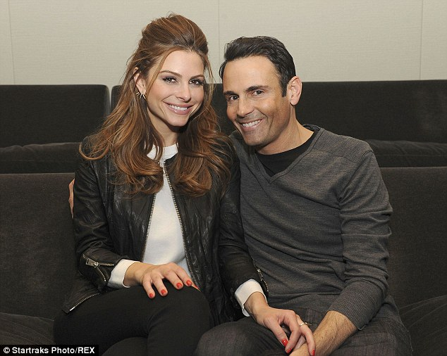 Strong: Maria Menounos and Keven Undergaro have been together for 16 years, however the start of their relationship estranged the TV presenter from her family