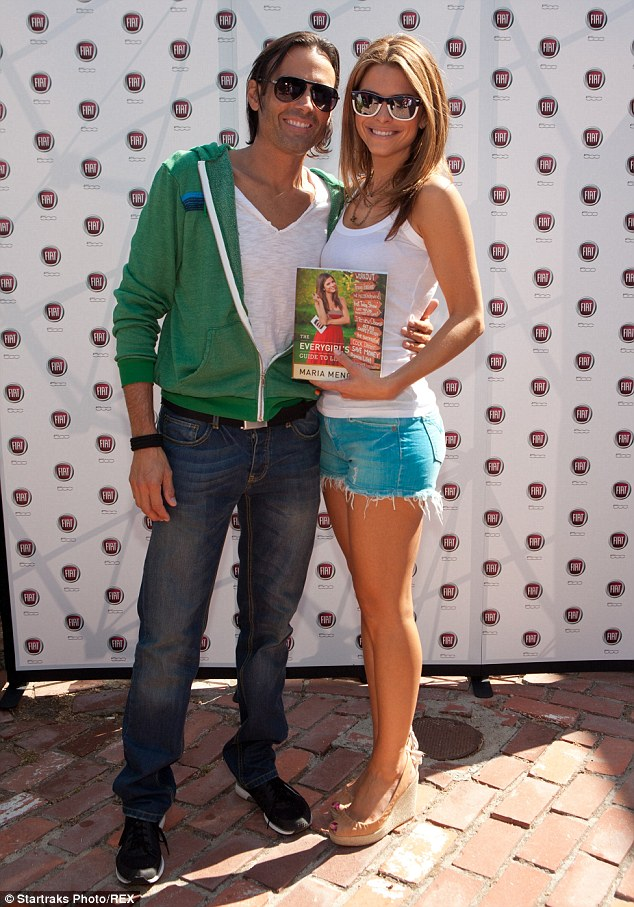 Maria Menounos and Kevin Undergaro at an event in Malibu in 2011. The couple have been together 16 years.
