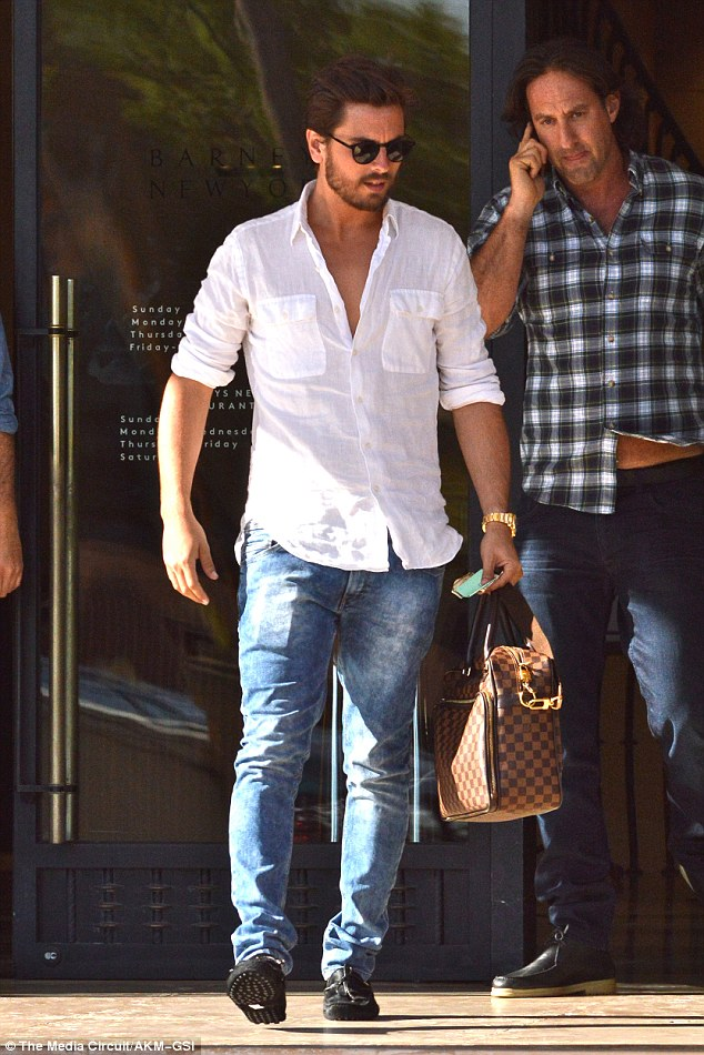 Lavish lifestyle: The star, 30, was also spotted shopping on Wednesday in New York with a friend