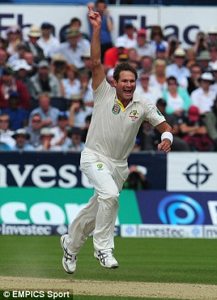 Fearsome: Australian seamer Ryan Harris is currently second in the ICC bowler rankings behind Dale Steyn