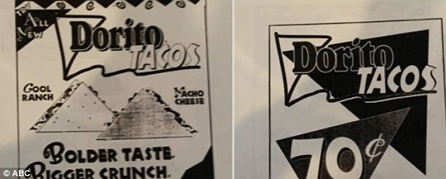 The Taco Bell college interns revealed promotional materials which they claim proves they are the original inventors of the Doritos-wrapped taco