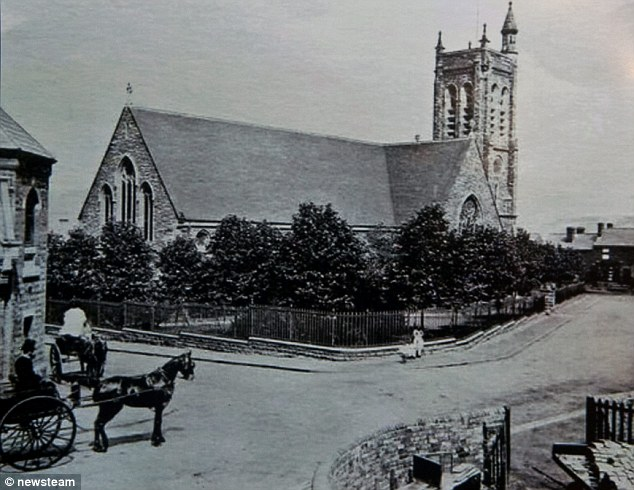 The Holy Trinity Church pictured in the early 20th Century. Mary made plans for the funeral at the church from her hospital bed before she died