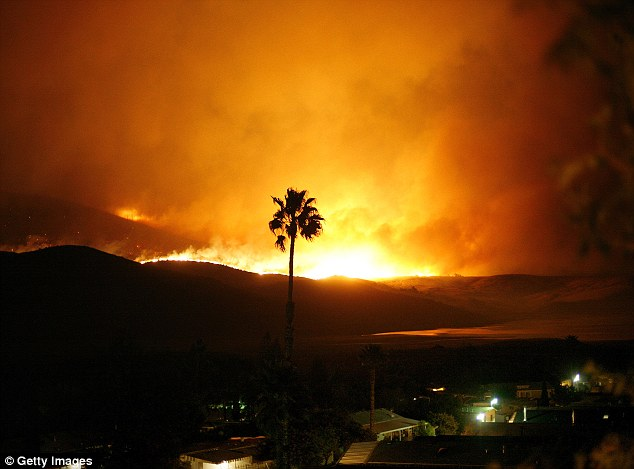The San Diego wildfires of 2007 ravaged the city and many residents lost their homes
