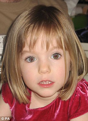 Similarities: Chloe's disappearance has reminded many of Madeleine McCann's in 2007