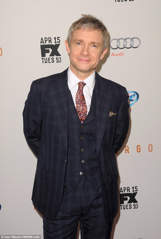 Martin is an actor very much in demand with TV, movie and theatre roles