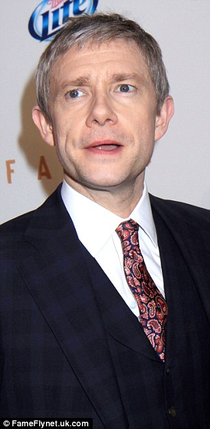 Martin (left) on Wednesday in New York and (right) back in 2007 at a film premiere in London