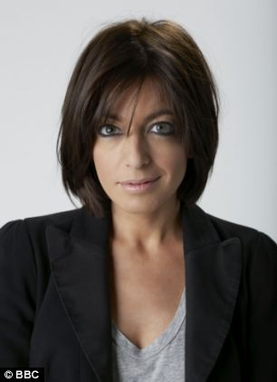 Television presenter Claudia Winkleman
