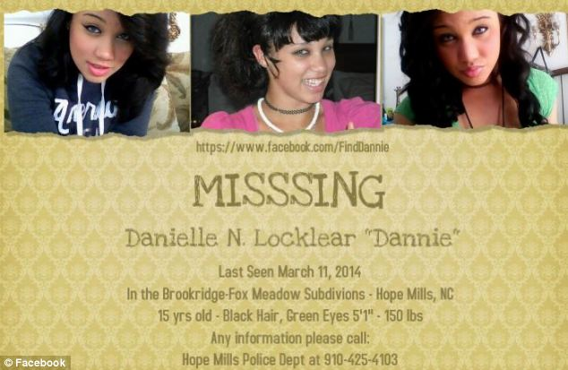 Shocking: When Danielle went missing, Malloy feigned concern and helped her family search for her