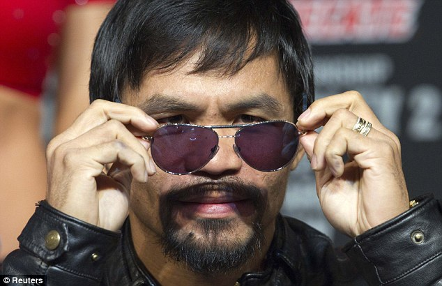 Leaving the rest in the shade: Manny Pacquiao is a fusion of supreme fighter and politician