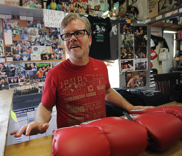 Doubts: Pacquiao's trainer Freddie Roach
