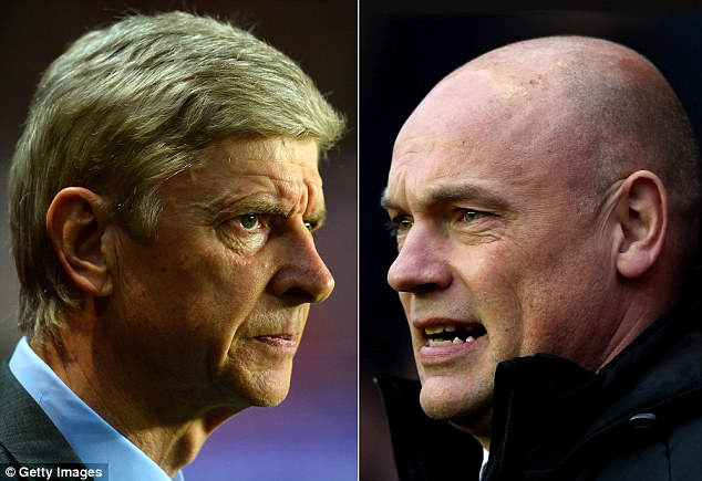 Head to head: Rosler's Wigan will be overwhelming underdogs against Arsene Wenger's Arsenal at Wembley