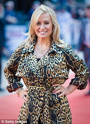 Singer Anastacia attends the UK Film Premiere of 'Knight And Day'