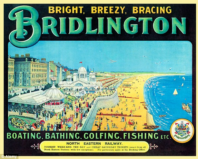 Heritage: One of Britain's Victorian seaside resorts - and once a glamorous holiday destination - residents in Bridlington fear the television programme could discourage tourists from visiting