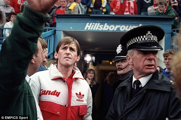 Leader: Dalglish sees the horror of the Hillsborough disaster first hand