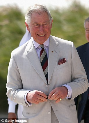 Prince Charles is said to have made the comments during a CBE ceremony