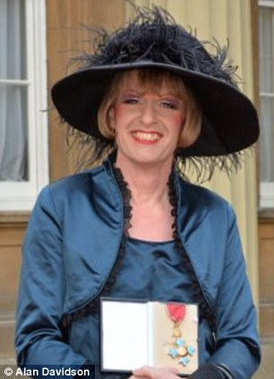 Grayson Perry in his 'Italian mother of the bride' outfit