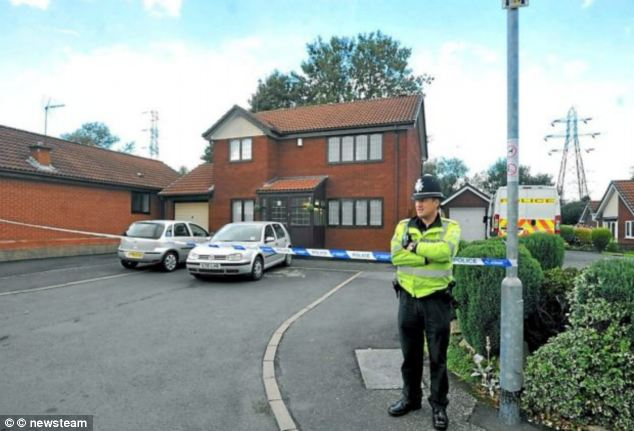 Police noted nothing suspicious when they first visited the couple's home in Walsall, West Midlands but returned when they saw smoke rising from the garden