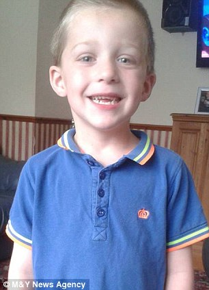 Jack was diagnosed with a brain tumour in January and surgeons tried to remove it but it was inoperable