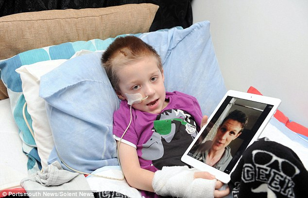 Hero: Jack was described by Matt Smith as the 'world's biggest Doctor Who fan'