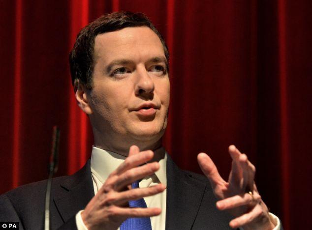 George Osborne has given a speech praising his austerity measures