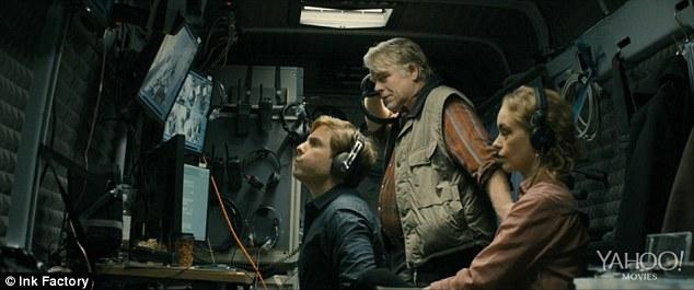 Espionage action: Hoffman's character Günther Bachmann runs a secret anti-terrorism team of spies