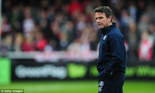 Not impressed: Bath head coach Mike Ford has called for an enquiry into the match