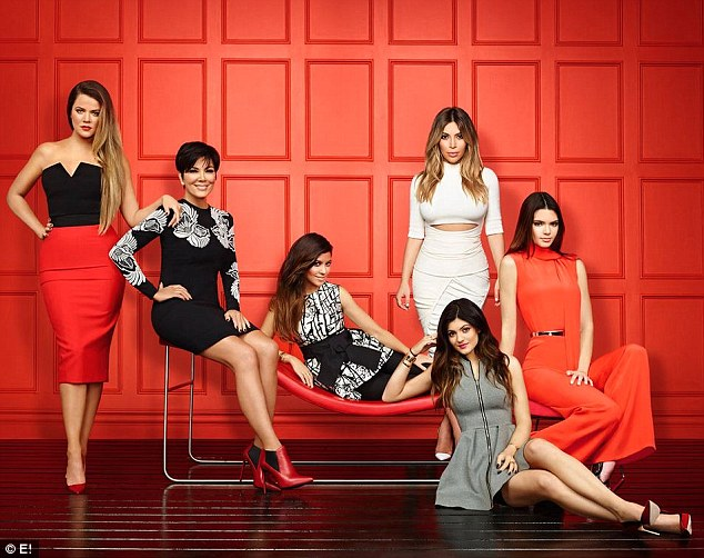 'I mean, it's not the worst job in the world': The ninth season of Keeping Up with the Kardashians airs Sundays through September 1 on E!