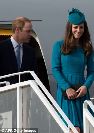 William and Kate arrived in Dunedin this morning, on the latest stop of their tour