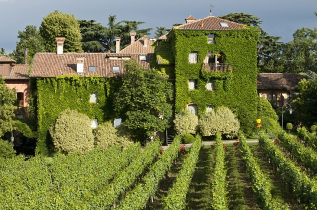 Tempting: L'Albereta is home to the Bellavista vineyard, source of Italy's answer to champagne