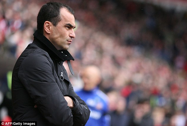 Foolish: Roberto Martinez last week branded opponents of the loan system 'stupid'