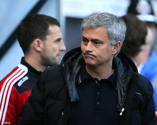 All to play for: Chelsea manager Jose Mourinho will take his team to Anfield later this month