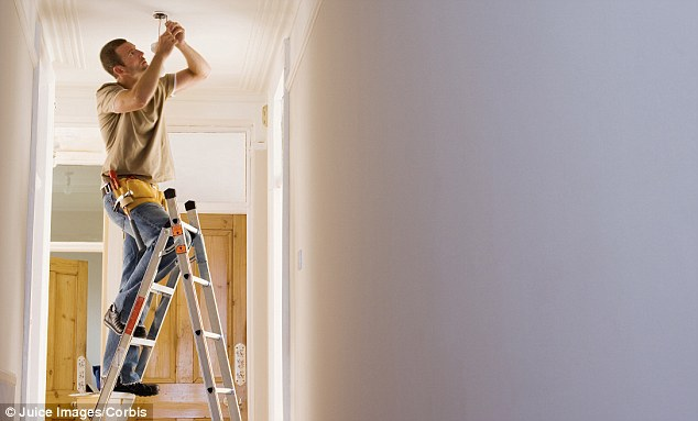 DIY weekend: Millions will embark on some sort of DIY this weekend - but not all home insurance policies come with accidental cover, especially if purchased from a comparison website
