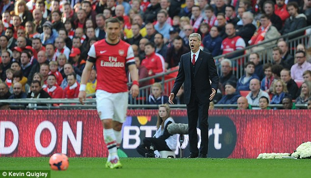 Faith? Perhaps Arsene Wenger doesn't feel he has the tools for a real battle