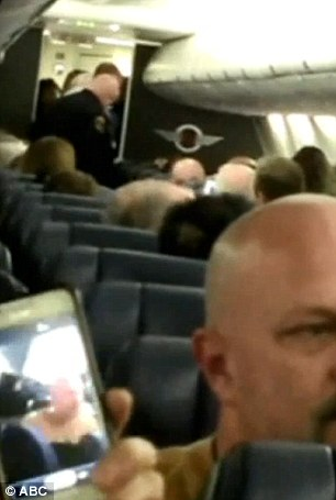 Travellers on board the Southwest Airlines flight 722, from Chicago to Sacramento, began screaming in terror when the man approached the back of the plane and attempted to unlock the hatch-door.