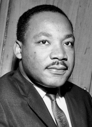 Martin Luther King Jr., who had a strict code of non-violence
