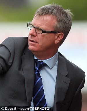 Easy: Andy Awford has won four out of four as Portsmouth manager