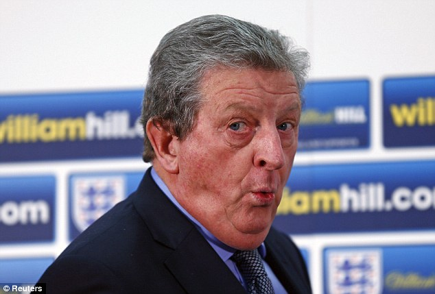It's that time: England boss Roy Hodgson will have liked what he's seen of Sterling in recent months