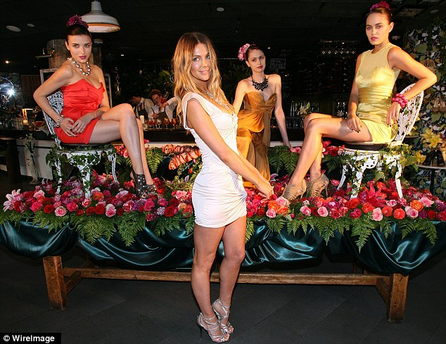 Hawkins heels: Former Miss Universe Jennifer Hawkins Siren shoe line is no more, pictured at the 2010 Sydney collection launch