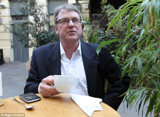 Contrast: David Cameron's chief election co-ordinator Lynton Crosby (pictured) is paid out of Tory Party funds
