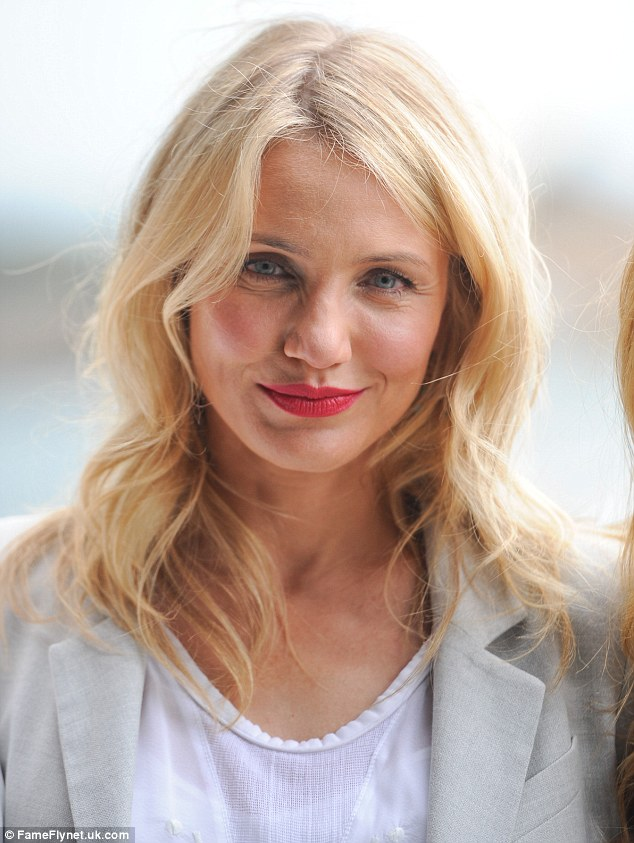 Revelations: Cameron Diaz has admitted she believes in having more than one partner, as women expect too much from men when it comes to monogamous relationships