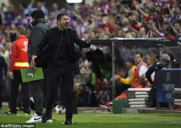 Come home: Atleti boss Diego Simeone would welcome Torres back to the Vicente Calderon