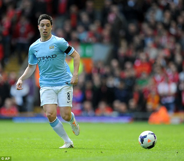 Outlay: City also spent £24m to sign Samir Nasri from Arsenal in August 2011 but the big-spending could yet bring dire repercussions