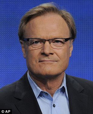 Injured: Lawrence O'Donnell, 62, has been hurt in a car accident and is undergoing unspecified treatment in New York