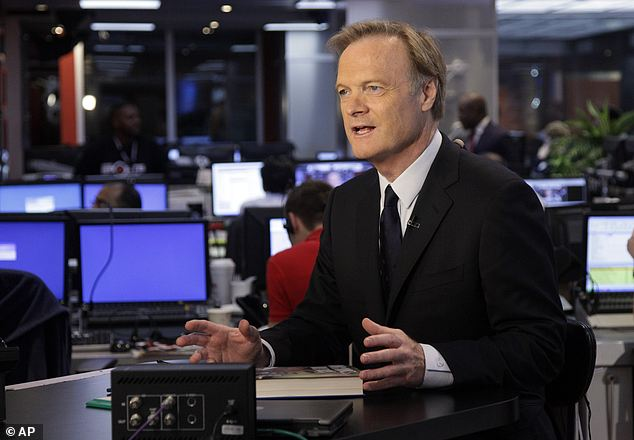 Off the air, temporarily: O'Donnell has been hosting 'The Last Word' on MSNBC since 2010 (pictured) but his colleagues subbed in for him until his recovery