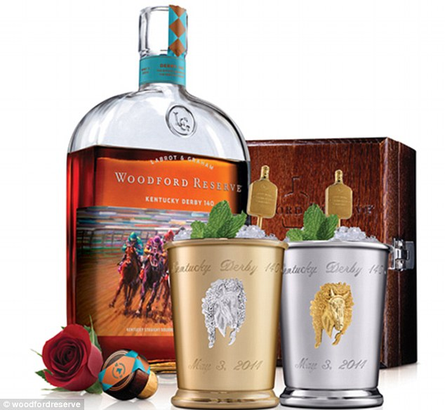 Don't spill it! A $2,000 mint julep cocktail launched for next month's 140th Kentucky Derby has sold out even before race-goers have winnings to blow