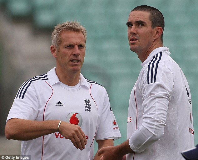 History: A number of senior players, not just Kevin Pietersen (right), doubted Moores' approach first time round