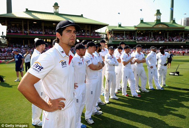 Under fire: Cook copped largely undeserved criticism from the likes of Shane Warne, but he's still learning