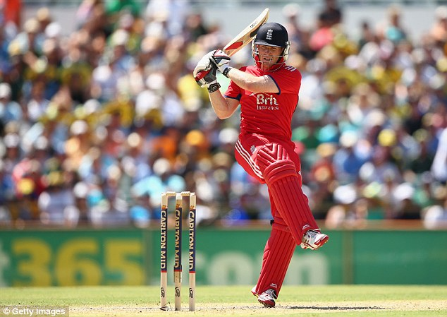 Entertainer: Eoin Morgan's work with Robson suggests he could be new Pietersen in all forms of the game