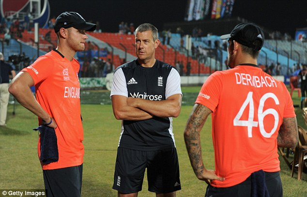Tarnished: Giles' may suffer for his association with recent woes in Australia, West Indies and World Twenty20